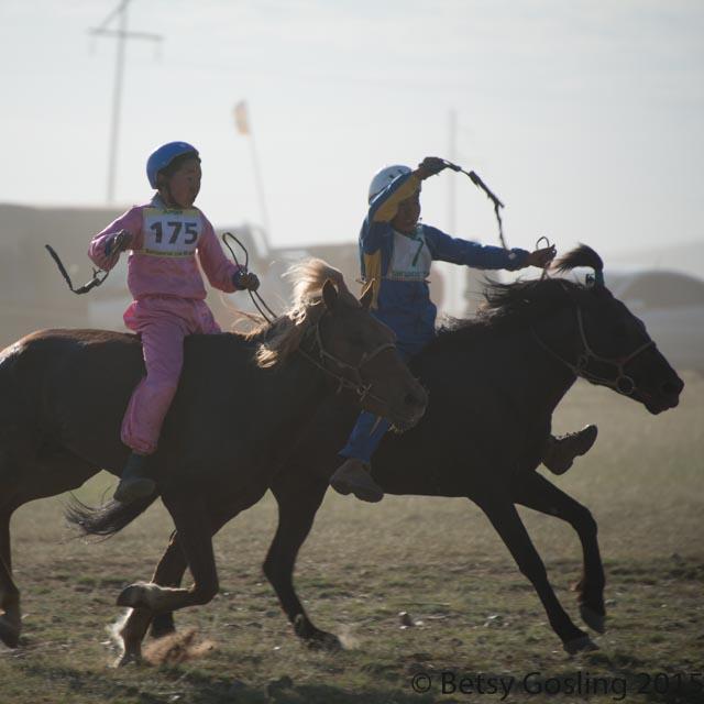Naadam Festival horse racing