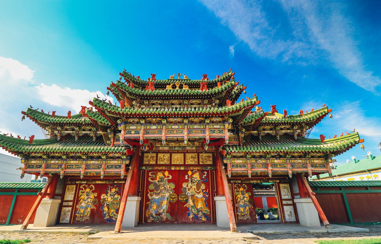 Bogd Khan Palace Museum Mongolia