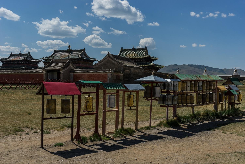 Erdene Zuu monastery at Karakorum