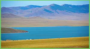 Great Lakes of Mongolia