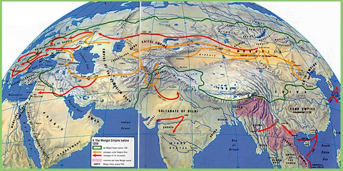 Mongol Empire, Empires of Mongolia, Mongolian Empires
