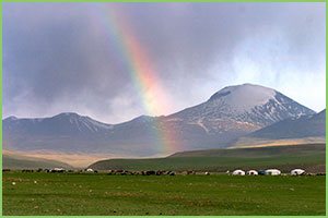 Mt. Otgontenger - Zavkhan province, khangai mountains of Mongolia