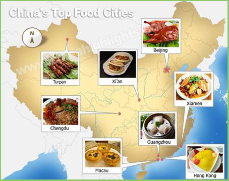 Types Of Food They Eat In China
