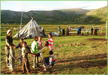 Travel responsible in Mongolia, responsible travel in Northern Mongolia