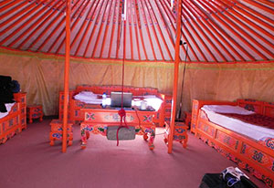 ger accommodation, mongolian traditional accommodation